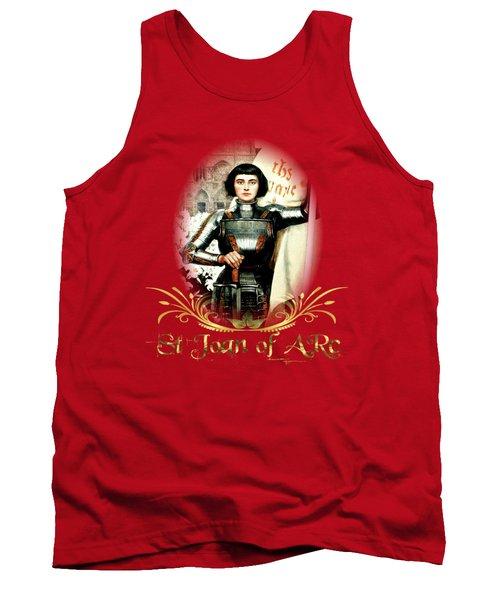 St Joan Of Arc - Jeanne D'arca Tank Top