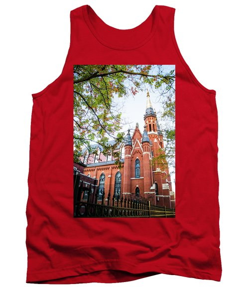 Tank Top featuring the photograph St Paul's Cathedral In Downtown Birmingham by Shelby Young
