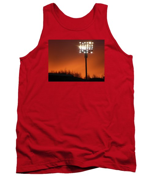 Tank Top featuring the photograph Stadium Lights by RKAB Works