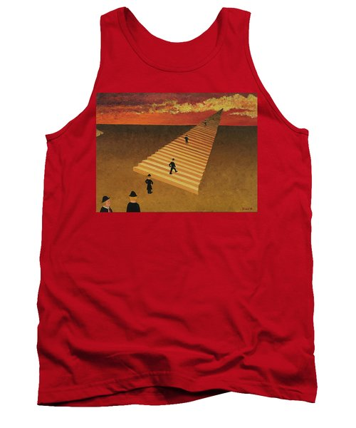 Stairway To Heaven Tank Top by Thomas Blood