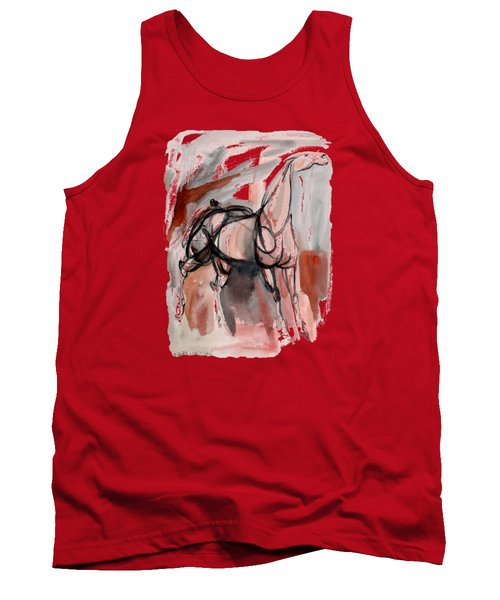 Stand Alone Bold One Tank Top by Mary Armstrong