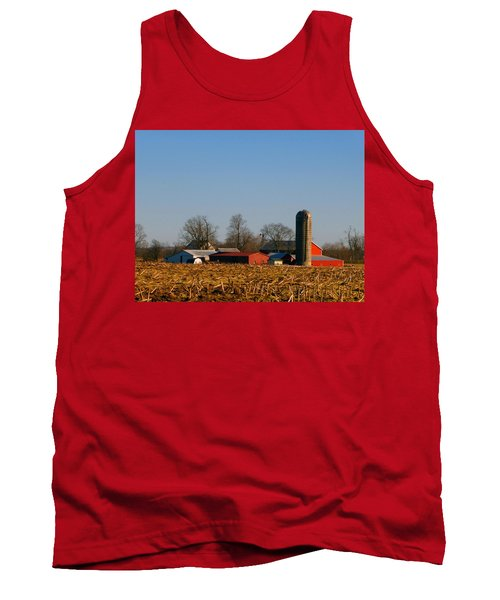 Standing Still Patiently Waiting Tank Top