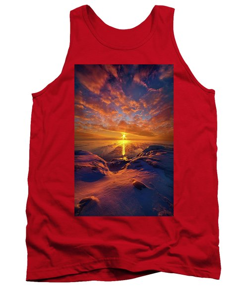 Tank Top featuring the photograph Standing Stilled by Phil Koch