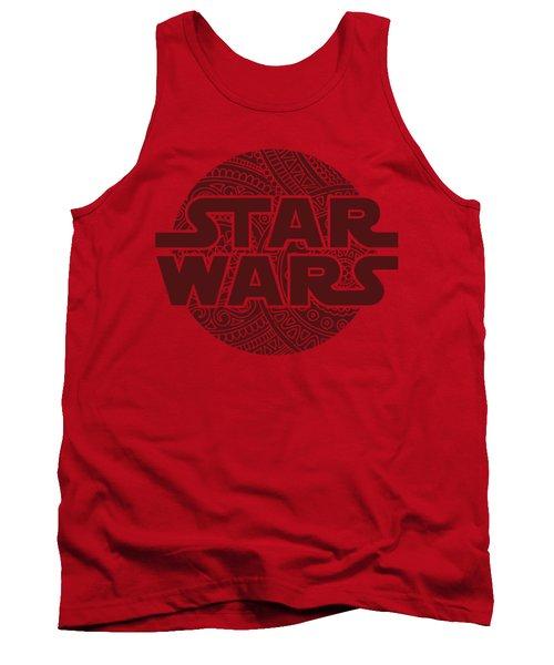 Star Wars Art - Logo - Red 02 Tank Top