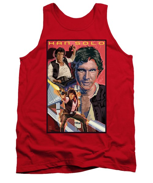 Star Wars Han Solo On Tatooine Tank Top