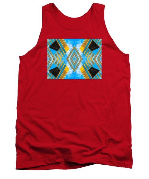 State And Grand Diamond N92 V3  Tank Top by Raymond Kunst