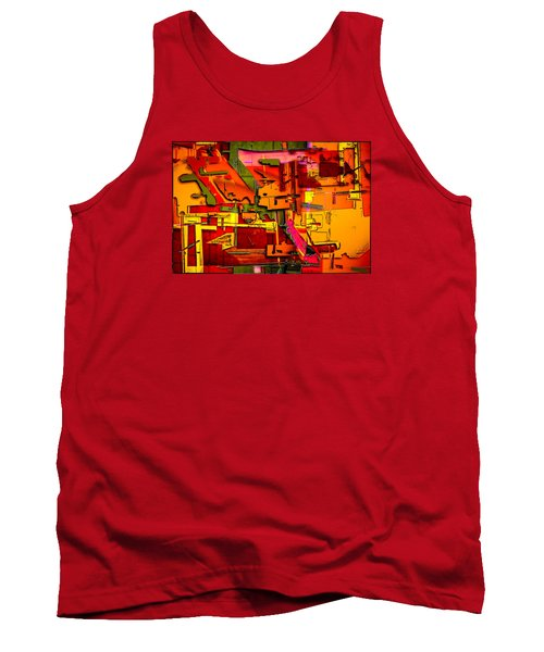 Industrial Autumn Tank Top by Don Gradner