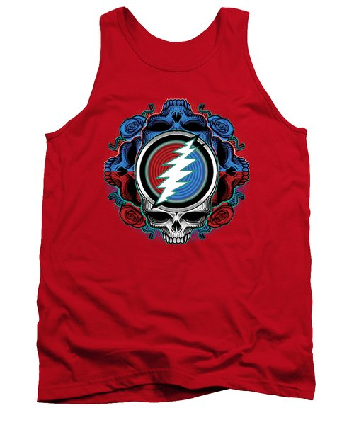 Steal Your Face - Ilustration Tank Top