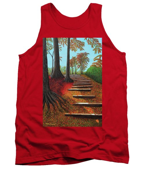 Almost There Tank Top by Donna Manaraze