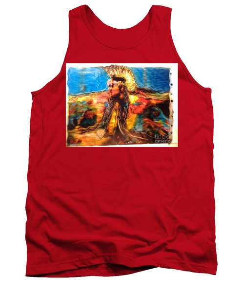 Stepping Into The Soul Tank Top by FeatherStone Studio Julie A Miller