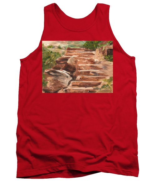 Steps To Zion Tank Top