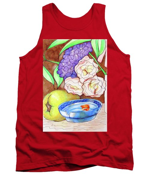 Still Life With Fish Tank Top
