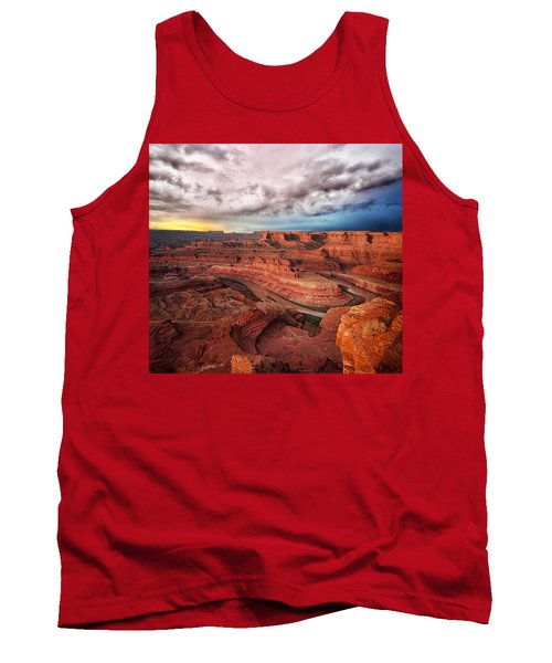 Storm Over Dead Horse Point Tank Top