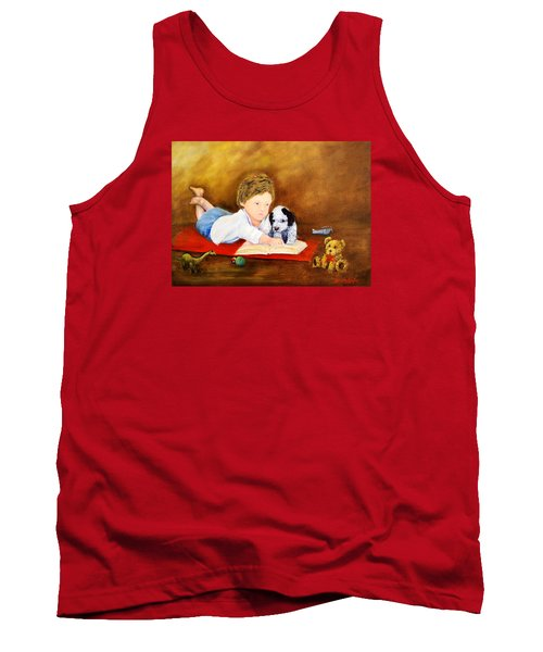 Storybook Time Tank Top by Loretta Luglio