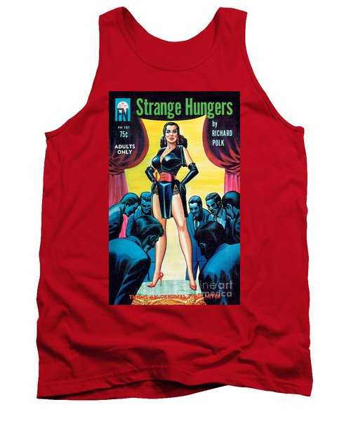 Tank Top featuring the painting Strange Hungers by Eric Stanton