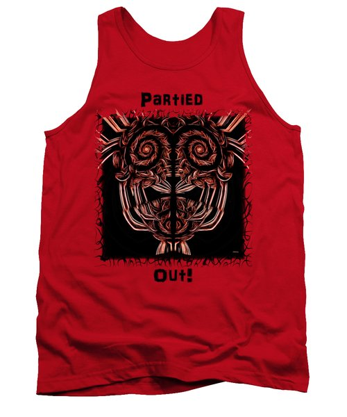 Strange Masque Apparel And Posters Tank Top