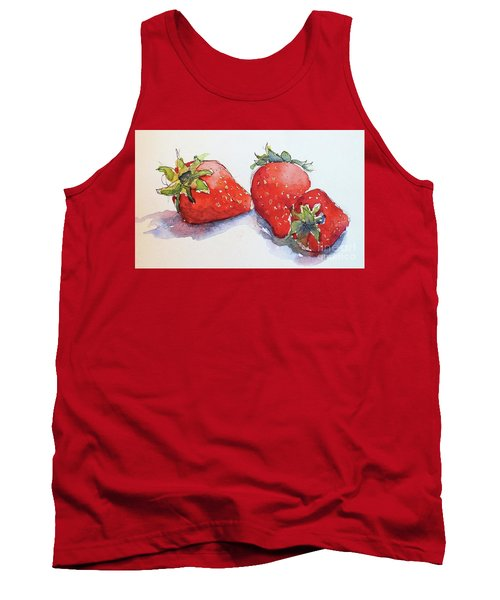 Strawberries Tank Top