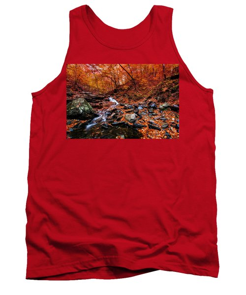 Tank Top featuring the photograph Stress Relief by Edward Kreis
