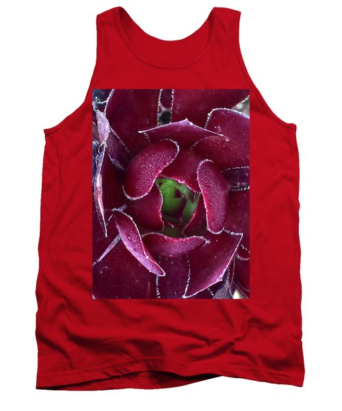 Succulent Mystery Tank Top by Russell Keating