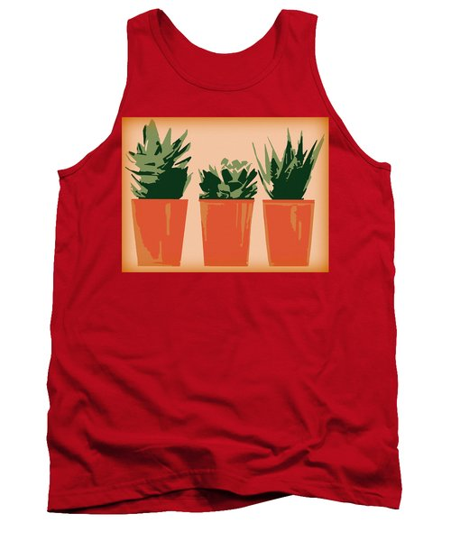 Succulents Tank Top