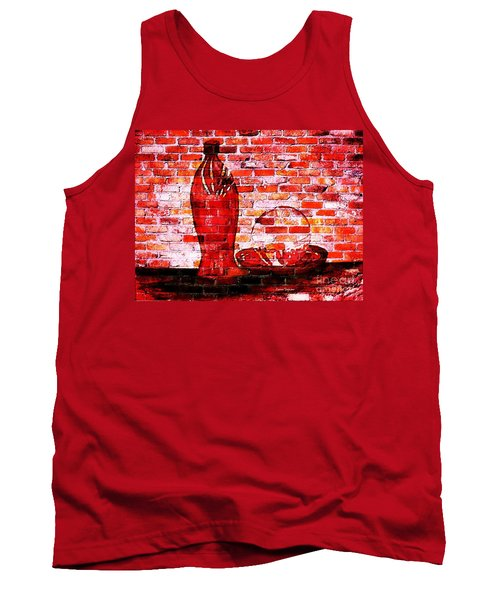 Such Is Life On The Wall Tank Top