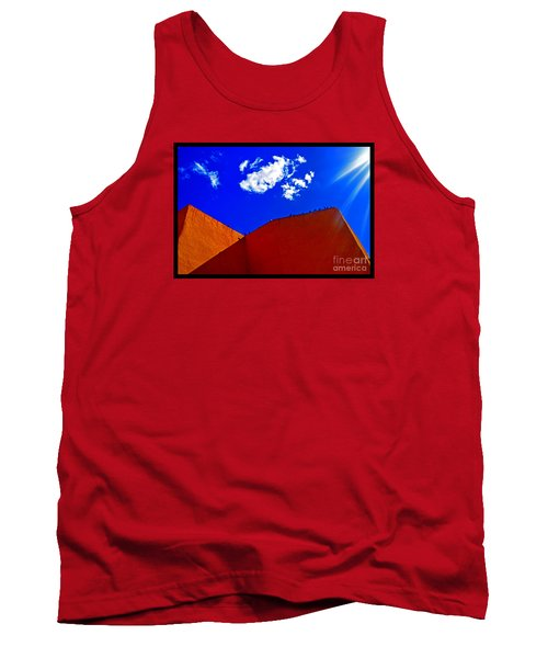 Tank Top featuring the photograph Summer Day In The New World by Susanne Still