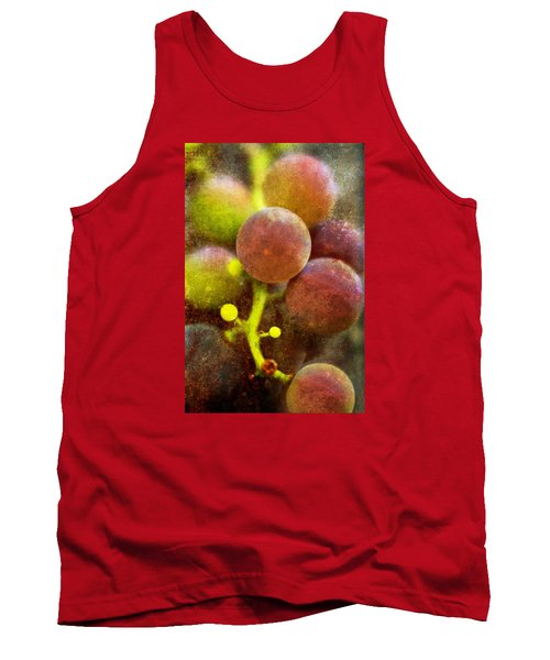 Tank Top featuring the photograph Summer Grapes by Tom Singleton