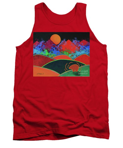 Summer Guardian Bear Tank Top by Jeanette French
