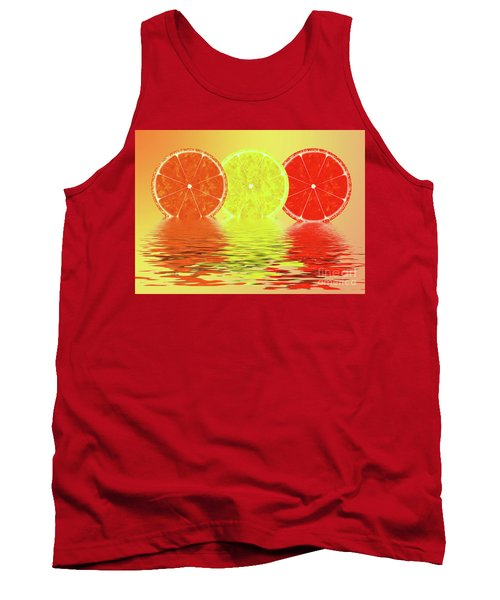 Orange,lemon,blood Orange Tank Top