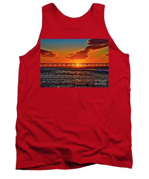 Summer Solstice Sunset Tank Top