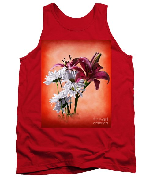 Summer Wild Flowers  Tank Top
