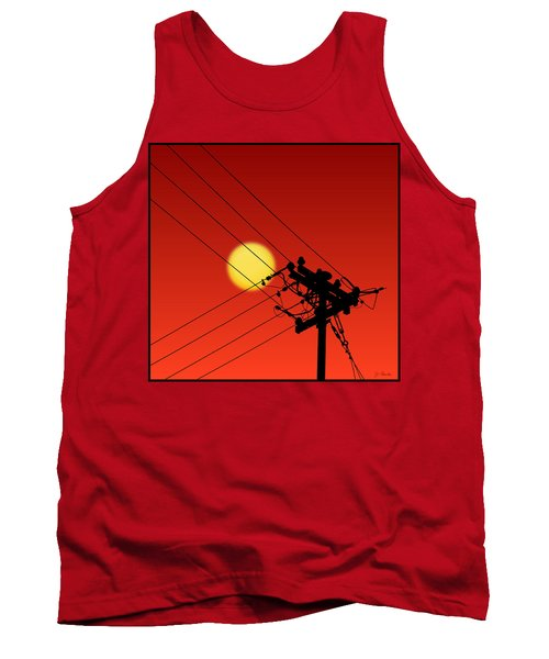 Sun And Silhouette Tank Top