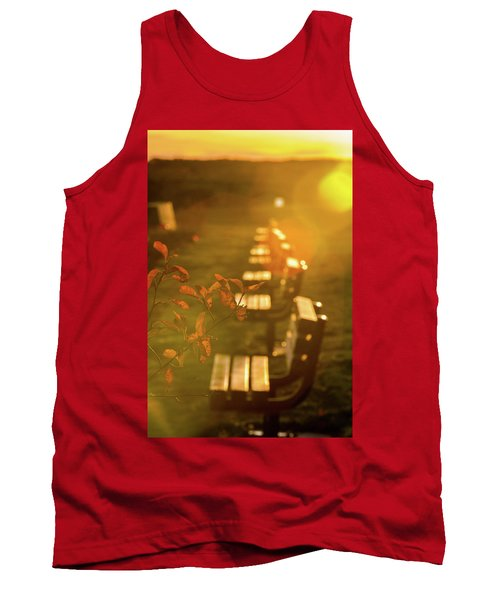 Sun Drenched Bench Tank Top