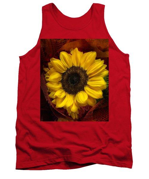 Sun In The Flower Tank Top