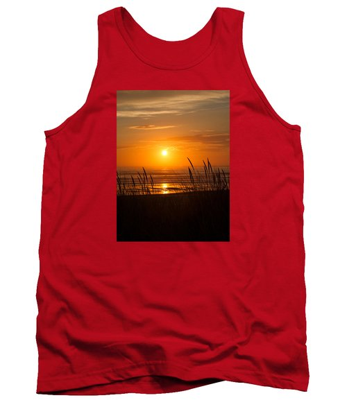 Tank Top featuring the photograph Sun Setting 2 by Adria Trail
