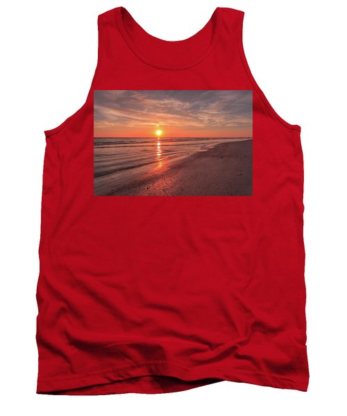 Sunburst At Sunset Tank Top