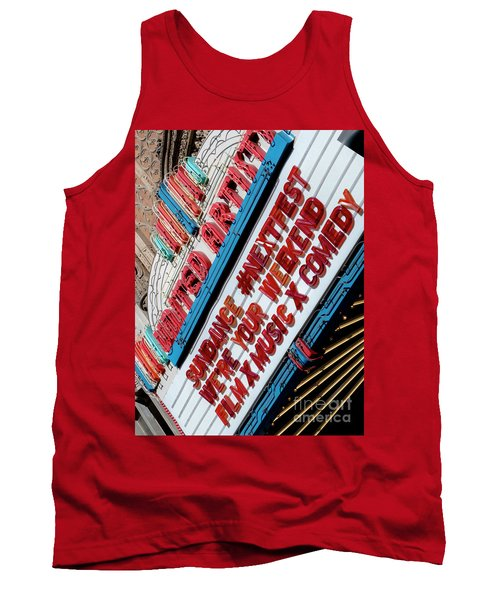 Sundance Next Fest Theatre Sign 2 Tank Top