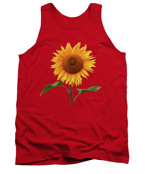 Sunflower And Red Sunset Tank Top