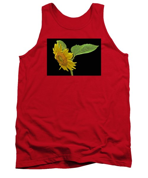 Sunflower Tank Top by Don Durfee