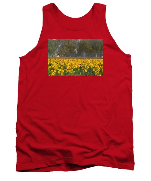 Sunflower Fields Tank Top