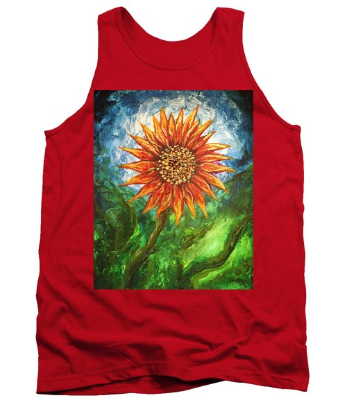 Sunflower Joy Tank Top