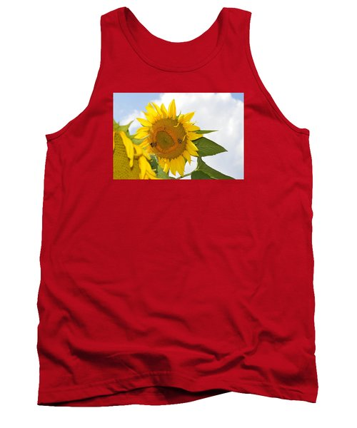 Sunflower Tank Top by Linda Geiger