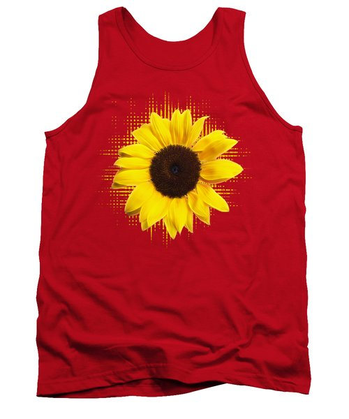 Sunflower Sunburst Tank Top