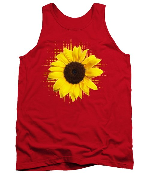 Sunflower Sunburst Tank Top