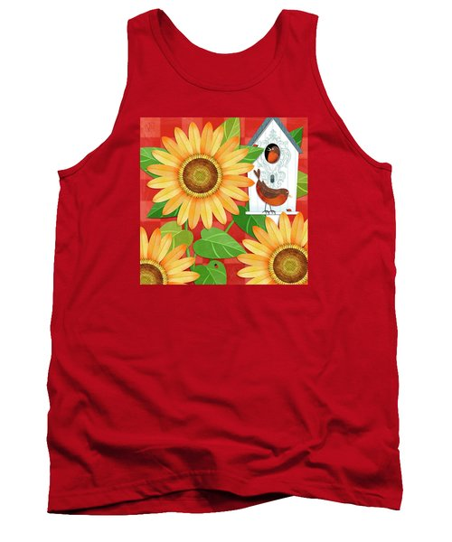 Sunflower Surprise Tank Top