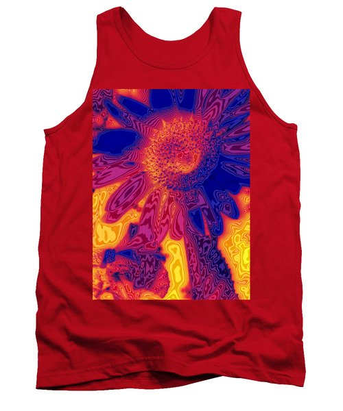 Sunny And Wild Tank Top by Stephen Anderson