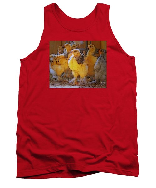 Sunny Chicks Tank Top by Ruanna Sion Shadd a'Dann'l Yoder