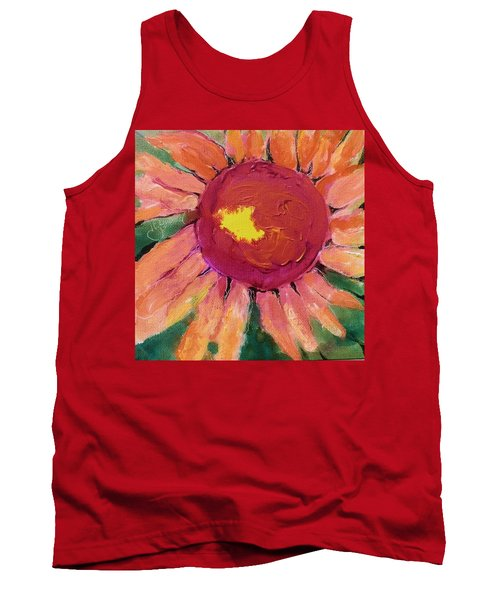Sunny Flower Tank Top