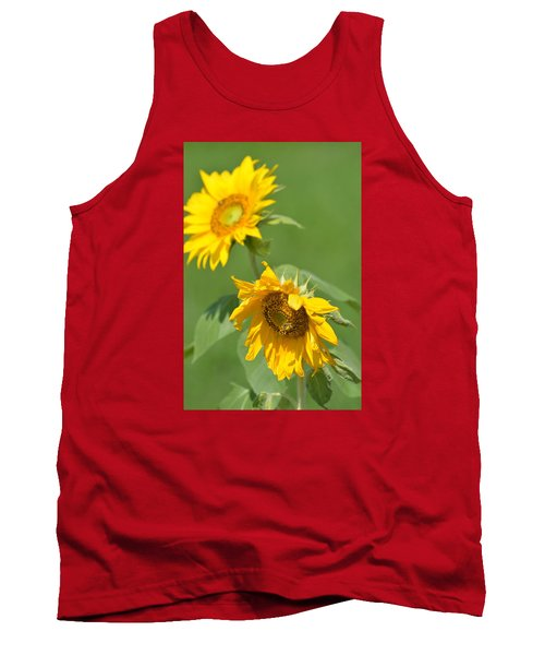 Sunny Side Up 1 Tank Top by Teresa Tilley