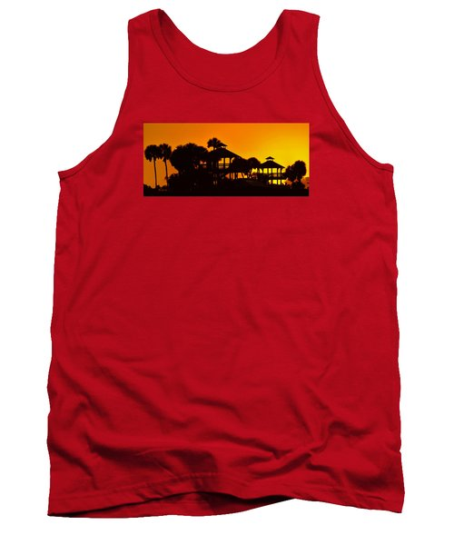 Sunrise At Barefoot Park Tank Top by Don Durfee